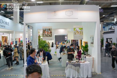 Participation à un salon des produits français à Hangzhou, Chine