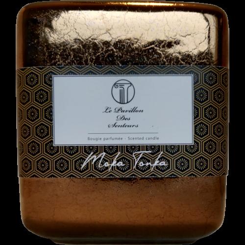 Petite bougie parfumée au Moka Tonka