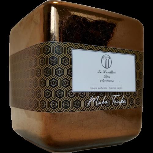Bougie parfumée petite taille au Moka Tonka
