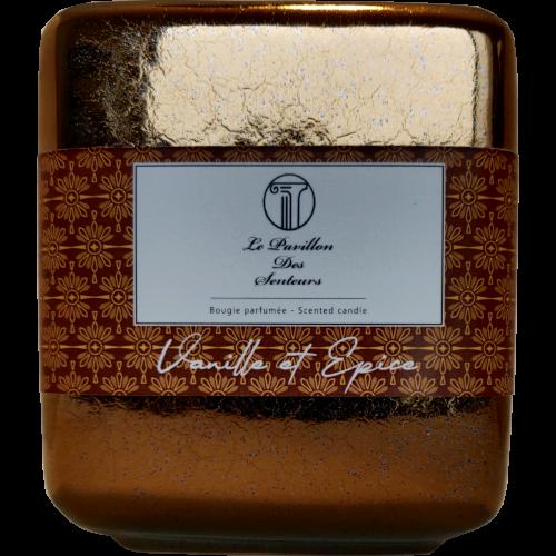 Petite bougie parfumée au Vanille et Epice