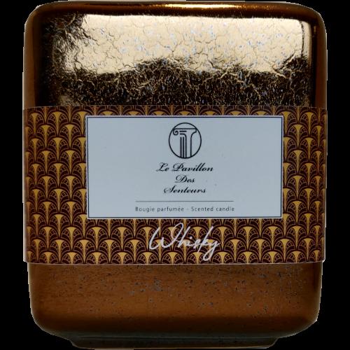 Petite bougie parfumée au Whisky